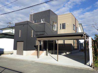 米沢市 S邸 新築工事 無落雪住宅