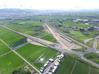 砂塚地区道路改良工事